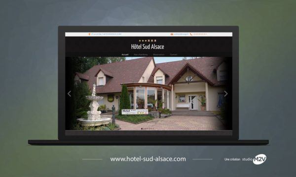 Hotel Sud Alsace : site internet