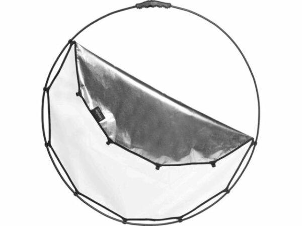 Location réflecteur Manfrotto Halo compact 82cm Argent/Blanc