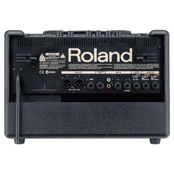 Location Roland AC-60 amplificateur acoustique (face arrière)