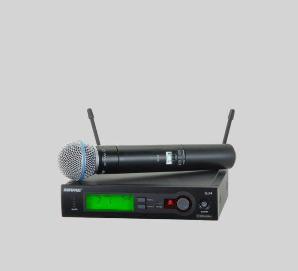 Shure SLX24 Beta58A : micro sans fil