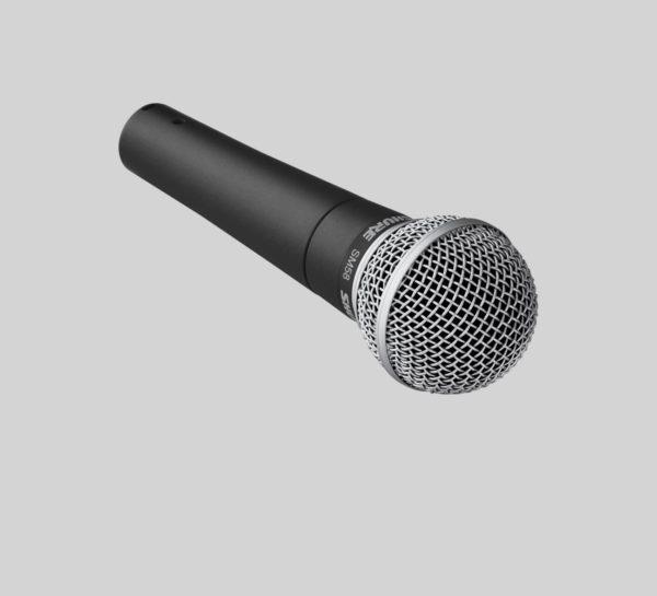 Shure SM58 : micro dynamique pour voix / chant