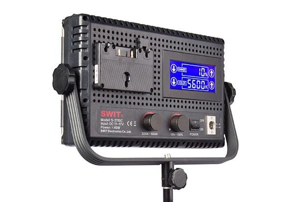 Swit S2110C : Panneau LED bicolore (vue arrière)
