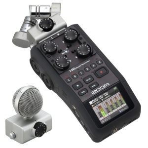 Zoom H6 (enregistreur audio portable)