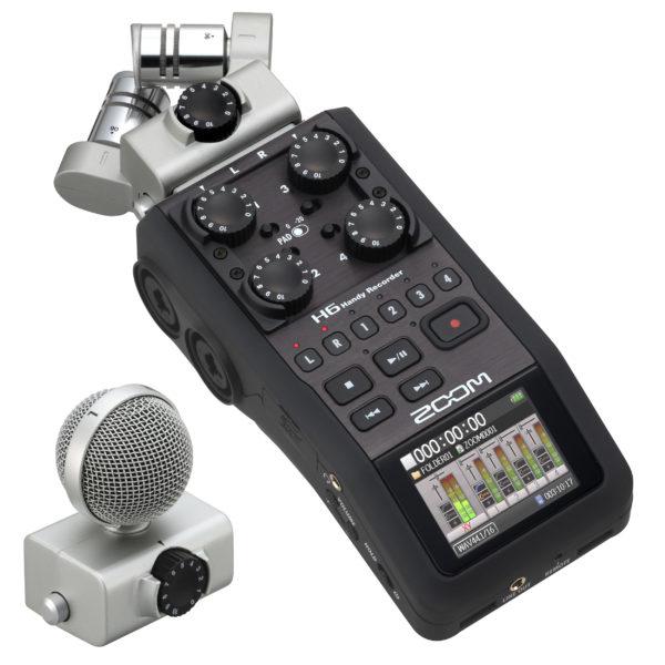 Zoom H6 (enregistreur audio portable)